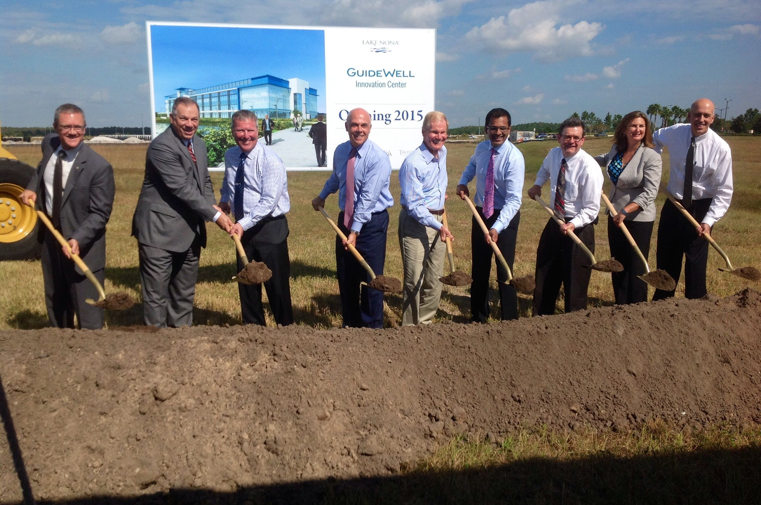 Construction will start this week on the new $30 million GuideWell Innovation Center in Lake Nona's Medical City.
